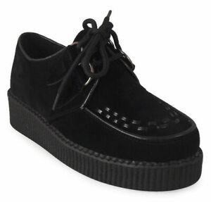 Détails sur Chaussures Femme Escarpins Femme Plateforme Punk Goth LACE UP CREEPERS CHAUSSURES BASKETS escarpins taille afficher le titre d'origine