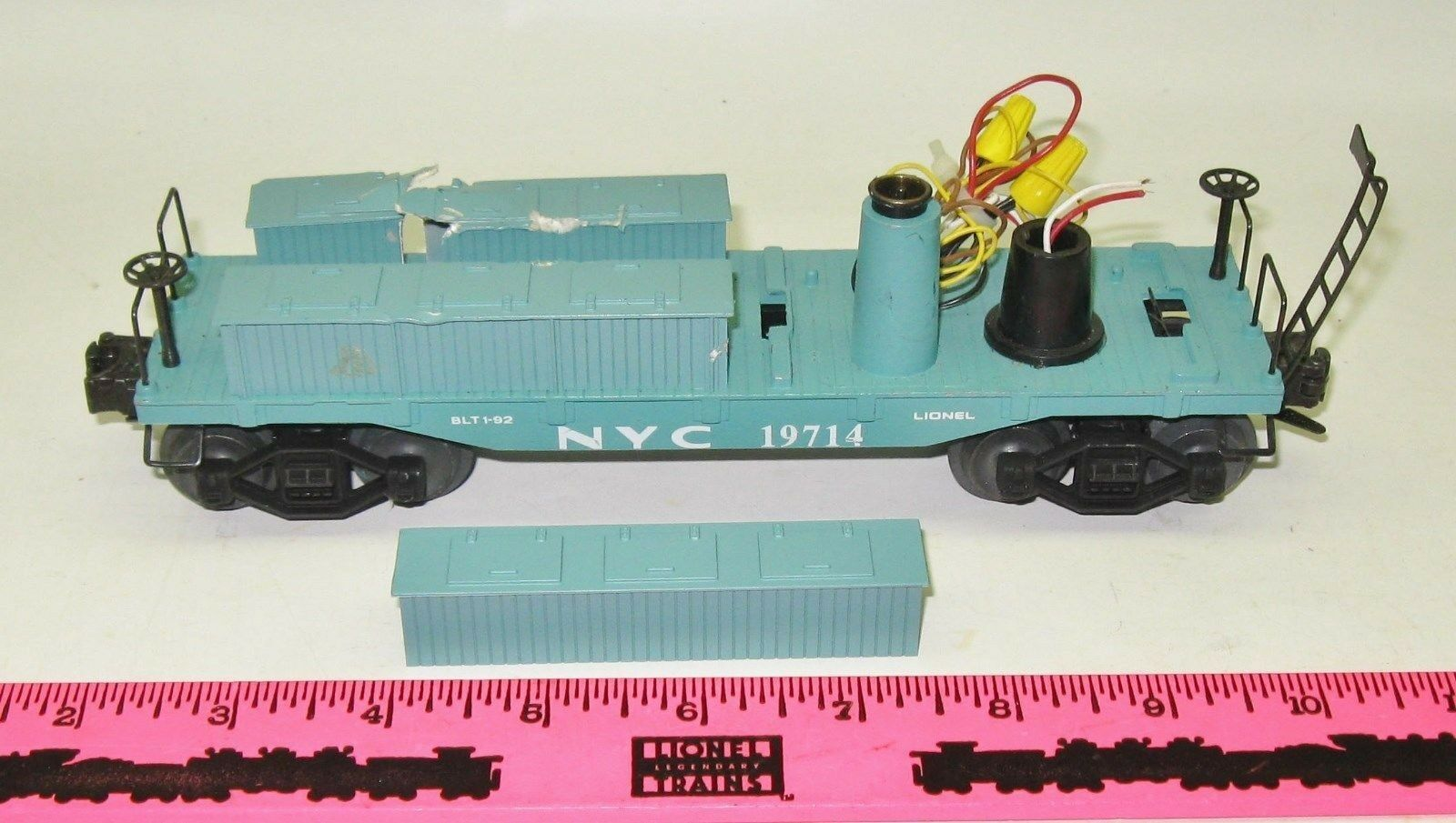 Lionel Parts for 19714 NYC searchlight caboose