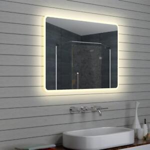 Details zu LED Beleuchtung Badezimmerspiegel Licht Wand Bad spiegel 100 x  70 cm M15107