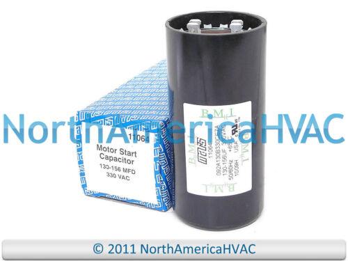 Motor Start Capacitor 130-156 MFD 330 VAC MARS 11064
