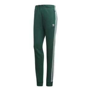 Detalles acerca de Adidas para mujer Originals Con Puño Pantalones de  pista: Verde/Blanco-DV2598- mostrar título original