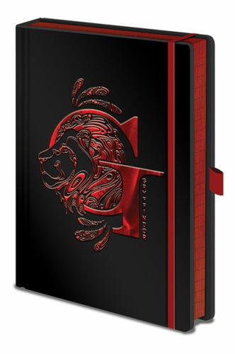 Harry Potter - Griffindor - Notizbuch A5, Notebook, Block - Größe 15x21 cm