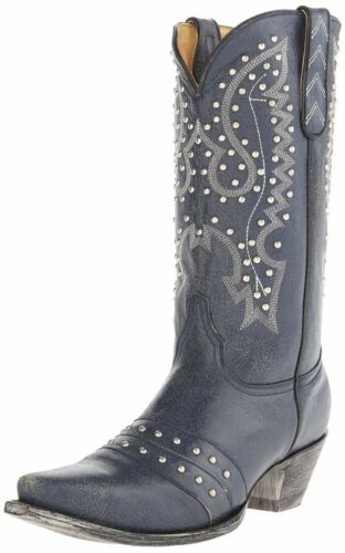 New Yippee Kay Yay by Old Gringo Women/'s Song Bird Western Boot Blue Jeans 7 /& 8