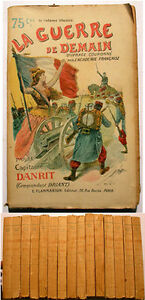DANRIT-LA-GUERRE-DE-DEMAIN-FLAMMARION-VERS-1900-VOL-5