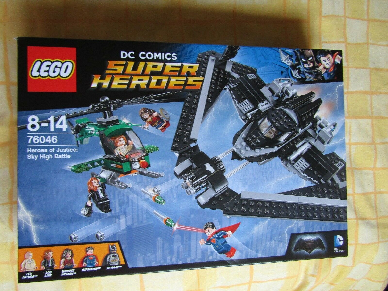 LEGO DC Heroes Of Justice Sky High Battle 76046. RETIRED SET  BRAND NEW & SEALED
