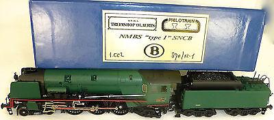 NMBS type 1 SNCB 1.002 Locomotive à vapeur Oalerts Philotrain H0 1/87