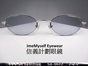 [ ImeMyself Eyewear ] Jean Paul Gaultier JPG 58-0022 vintage sunglasses