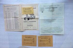 Varay-amp-Magnenant-Roulements-a-Billes-Publicite-amp-Tarif-1932