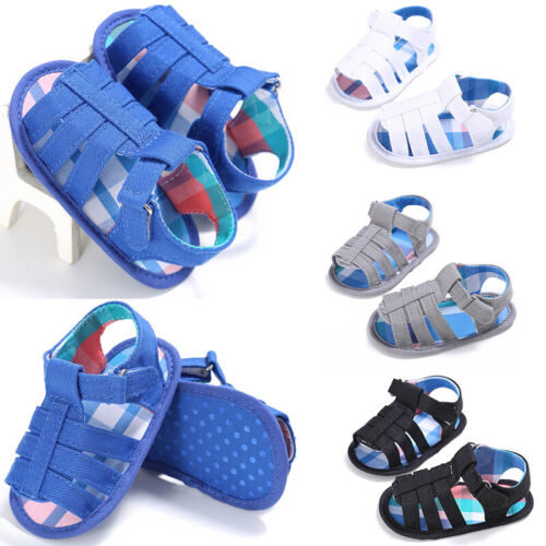 Toddler Hollow Casual Shoes Baby Hook /& Loop Fasteners Flats Sandals Size 11-13
