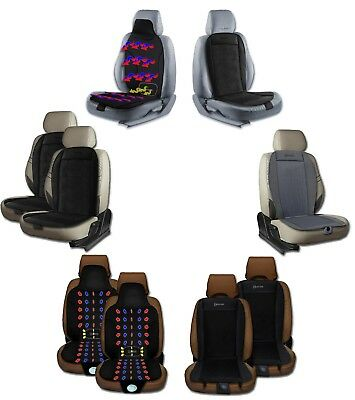 Zento Deals 2x Cool 12V Adjustable Cooling Car Seat Summer Cushion Chair Cover