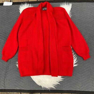 Alpaca cardigan Red Orange Purple Peruvian Sweater Cardigan Artesania Los Andes