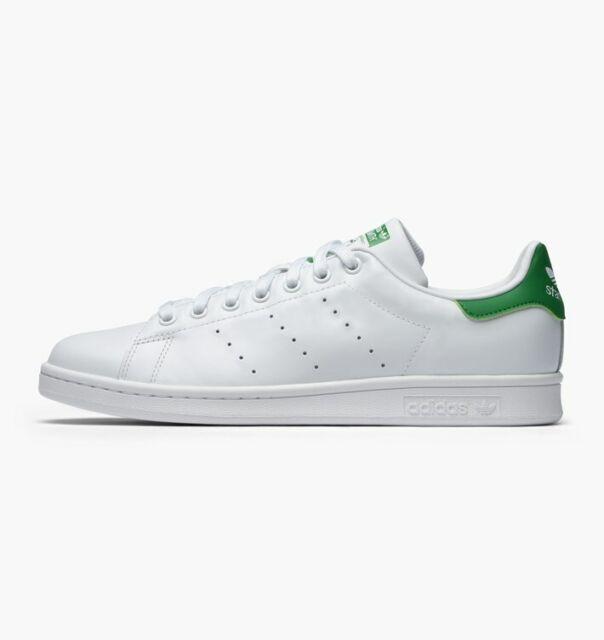 Adidas Originals Men's Stan Smith OG Shoes NEW AUTHENTIC WhiteGreen M20324