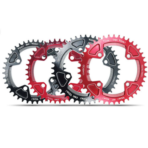 40T//42T Chainring Round For 104mm BCD Crank Sprocket Outdoor Replacement