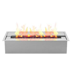 Details About Outdoor Fire Pit Tabletop Portable Bio Ethanol Fireplace Burner Insert