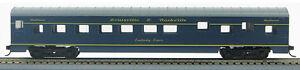 1-980Q HO 72 Ft Smoothside Passenger Pullman Sleeper Louisville /& Nashville