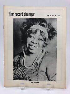 Vintage-June-1955-THE-RECORD-CHANGER-Jazz-Music-Magazine-Ma-Rainey