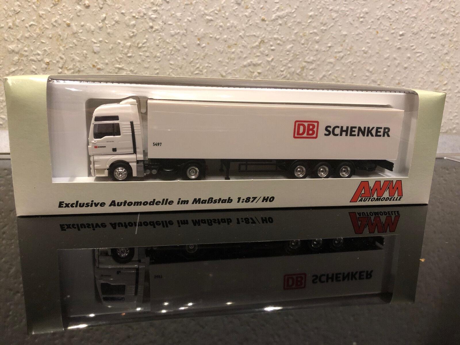 AWM MAN TGX Koffersattel DB Schenker Werbemodell Hagen mit Kennzeichen  | Niedrige Kosten