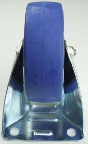 SL 100 mm Schwerlastrollen BLUE WHEELS Bockrollen starr Transportrollen 4 St