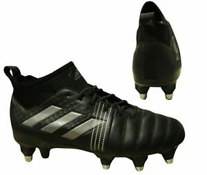 Adidas-Kakari-Force-SG-Homme-Chaussures-De-Rugby-Football-Terrain-Souple-Noir-BY2724-X20B