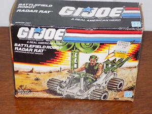 Rat Robot Rat Gi Joe Battlefield Avec Box 1988