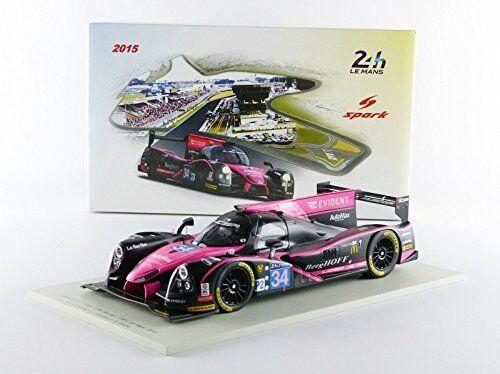 Ligier Jsp2 Judd  34 Dnf Lm 2015 Cumming / Vanthoor / Estre 1:18 Model