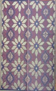 Details About 2 Pk 5 X7 Reversible Indoor Outdoor Rug Patio Rv Camping Rug Mat 379