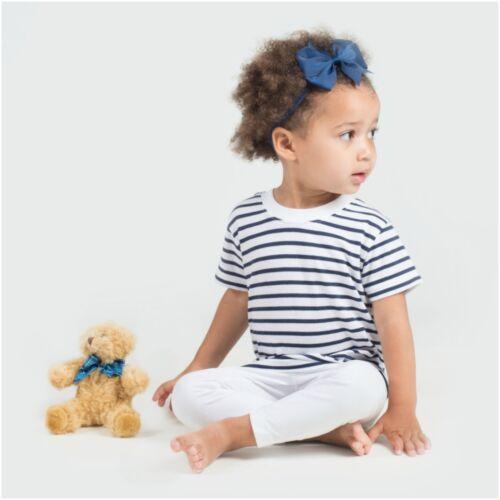 Baby Kid Child Toddler Stripe Breton Top Short Sleeve T-Shirt Tee Sailor French