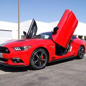 Image is loading Lambo-Doors-Ford-Mustang-2015-2019-Door-Conversion- & Lambo Doors Ford Mustang 2015-2019 Door Conversion kit Vertical ...