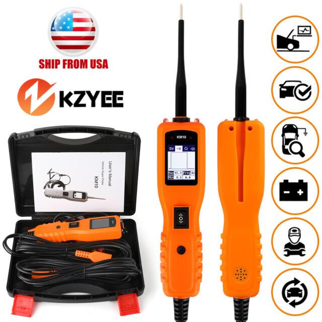 12v POWERSCAN Car Circuit Tester Electrical Power Avometer Diagnostic Tool  Km10
