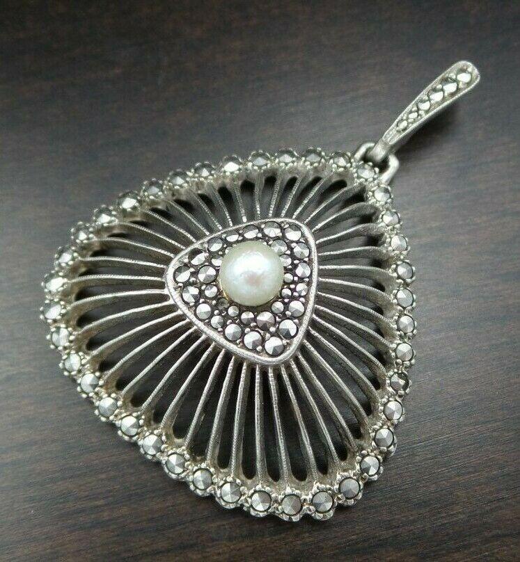 Vintage Mid Century Modern Modernist 800 Silver Fish Ring