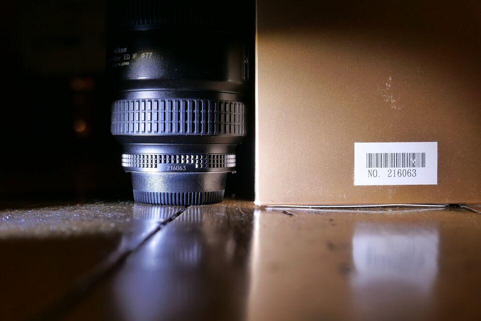 Zoom, Nikon, Nikkor AF-S 17-35 2.8D (IF) (dækker