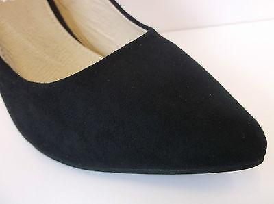 Señoras tópica (spot-on) Negro Zapatos Tenis f9665