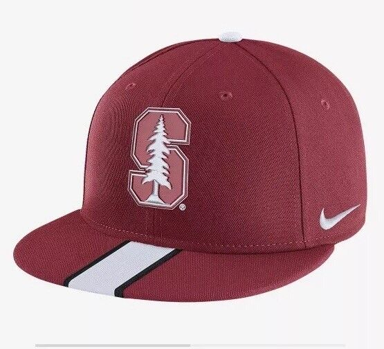 Nike True Stanford Cardinals Adult Snapback Football Red White Hat for sale  online  fa393e3f4409