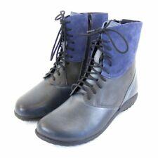 Naot Damen Schuhe Stiefeletten Chi Echt Leder grau 8956