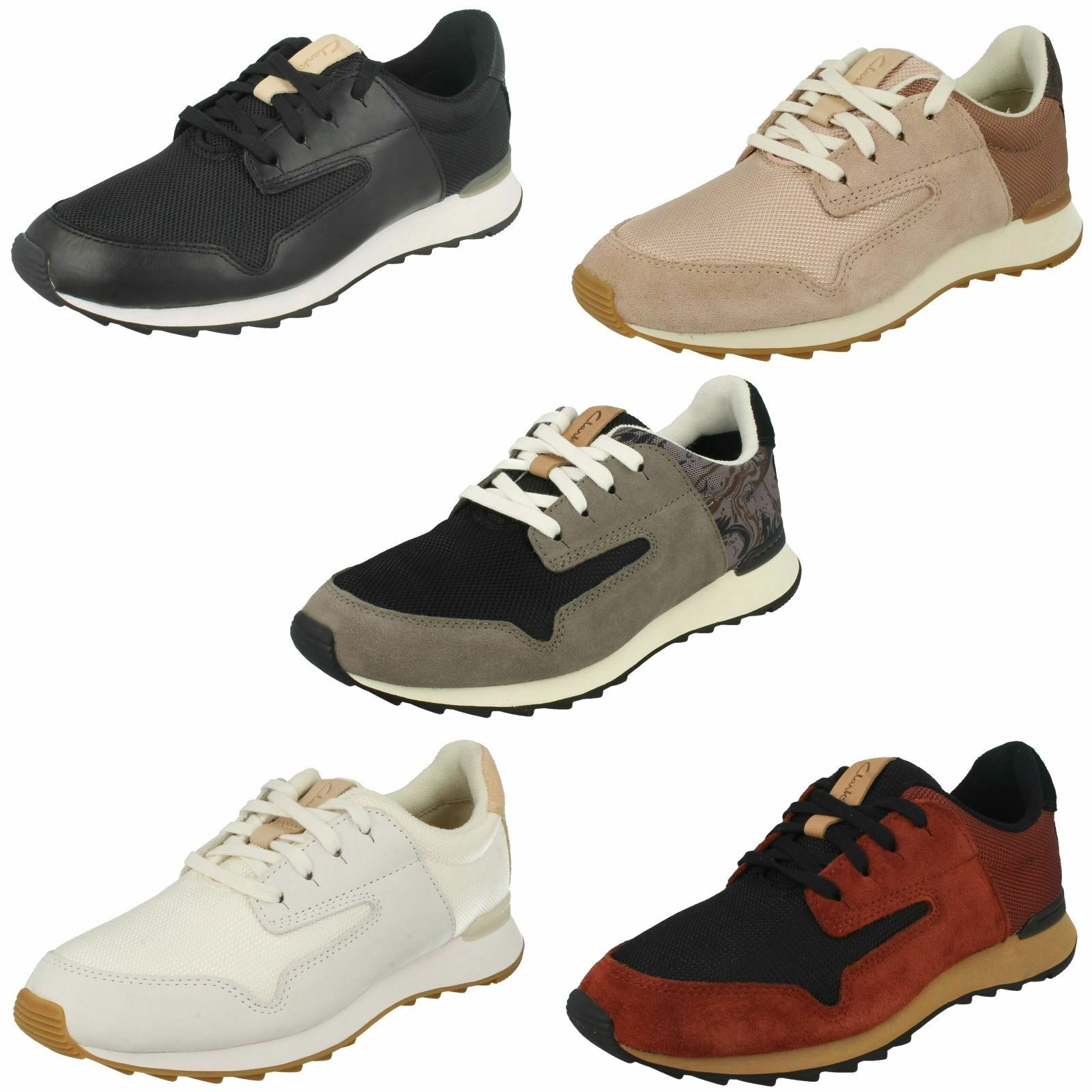 Ladies Clarks Casual Trainer Style shoes 'Floura Mix'