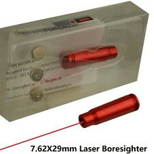 7.62x39mm Red Laser Bore Sighter Boresighter Bore Sight Red Finish US Seller