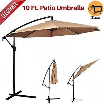 Patio Paraguas Aclaramiento 10 Ft