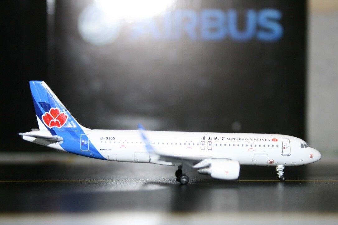 Panda Model Skywings 1 400 Qingdao Airlines Airbus A320-200 B-9955 (PM-B-9955)