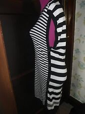 Stunning  All Saints Alna Striped Dress Size S (10) BNWOT