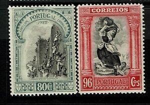Portugal-SC-448-amp-449-Mint-Hinged-Hinge-Remnants-minor-gum-creasing-S6644