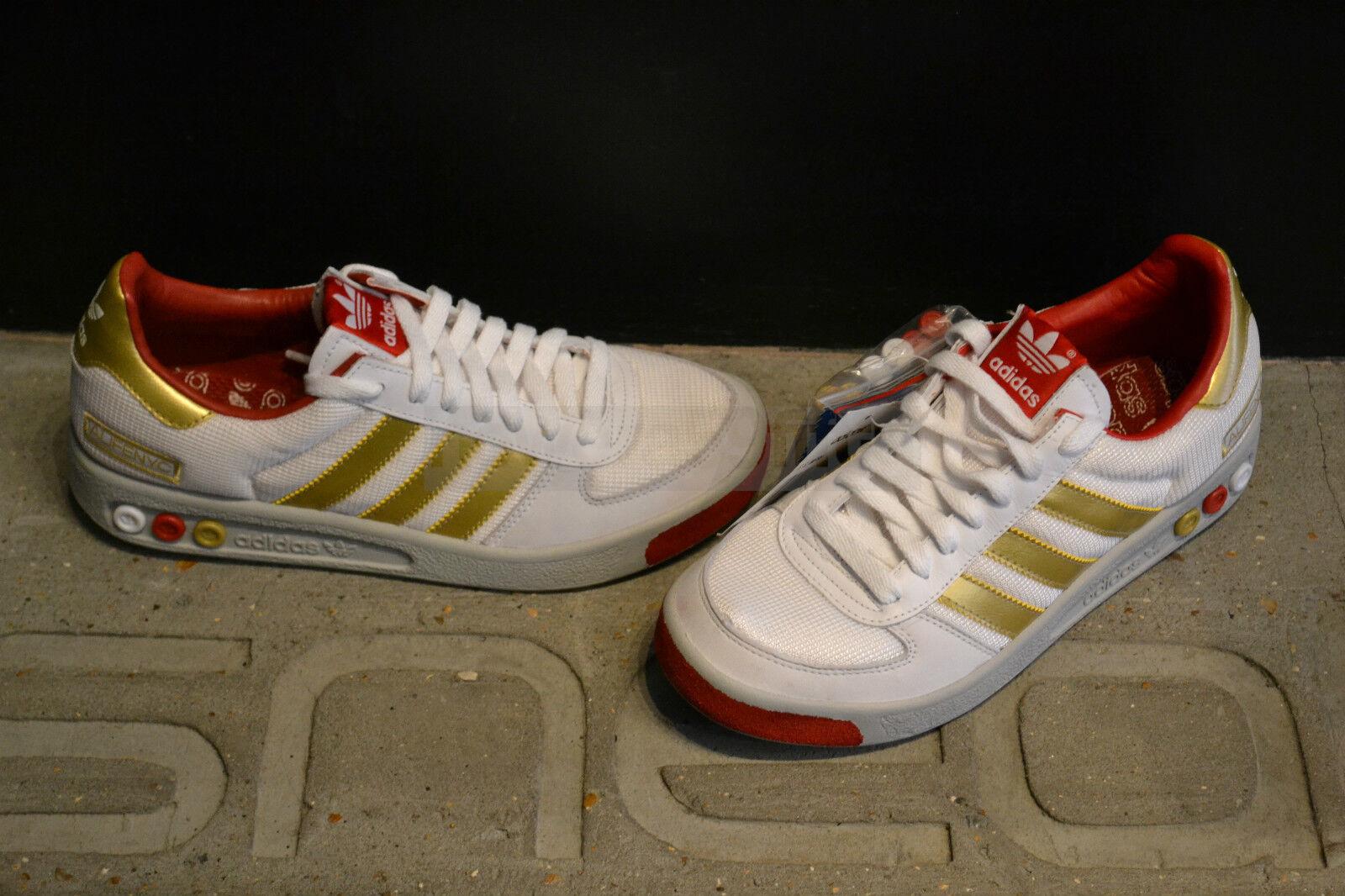 Adidas G.S Mesh ALIFENYC - Weiß/Gold/ROT Weiß/Gold/ROT Weiß/Gold/ROT 0959d2