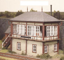 Ratio 536 - Midland Railway Signal Box - 1/76 Scale = 00 Gauge Plastic Kit T48