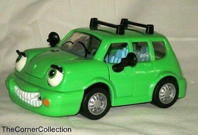 NEW Chevron Cars Wendy Wagon Toy Green Car Collectible VINTAGE Toys 1996 Techron