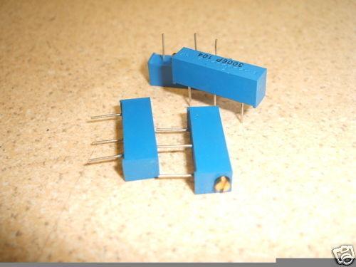 19mm Condensador de ajuste multiespira material cerámica-metal Olla Resistor 5K 4pk