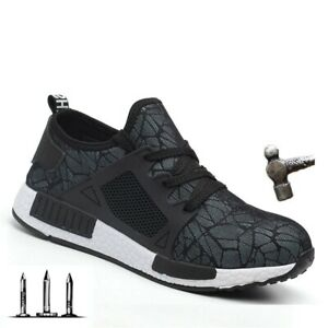 IMMORTAL SHOES 2019 CHIC WORK SHOES Air Safety Boots Sneakers Breathable