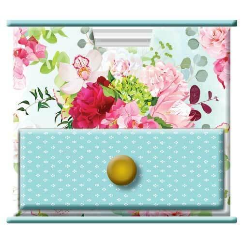 Belles Fleurs Memo Cube