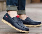 Fashion England Men's leather shoes Breathable Recreational Shoes Casual shoes