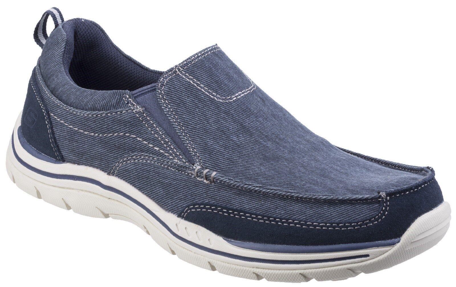 Skechers Mocassini previsto rendono Mocassini Scarpe Uomo Casual Mocassini Skechers tessile in Memory Foam f9e18c