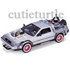 Welly DMC 12 DeLorean Back To The Future Time Machine BTTF 1:24 22444 Part III