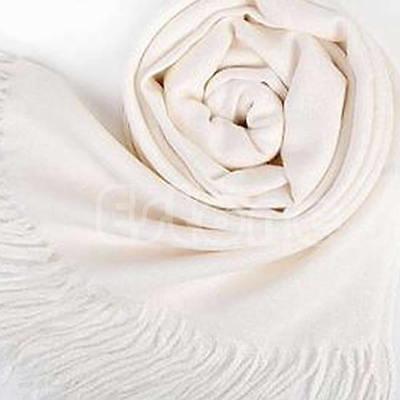 Women Long Large Stole Pashmina Tassels Shawl Wool Blend Scarve Winter Warm Wrap